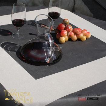Mantel Les Tissages du Soleil | Style Gris