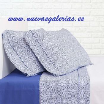 Sommerbettwäsche Bassetti Siwa Azul | Bassols