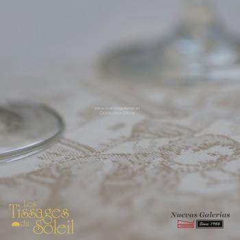 Mantel Les Tissages du Soleil | Versailles Beig