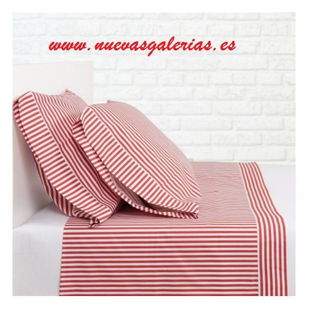 Bassols Sheet Set Sailor Rojo | Bassols - 1 Sheet Set Sailor Red by Bassols 100% Egyptian Cotton Mercerized Hair 200 strands. 3