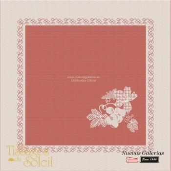 Servilletas Les Tissages du Soleil | Vigne Rojo