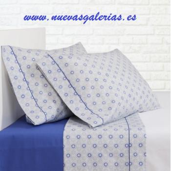 Sommerbettwäsche Bassetti Ica Azul | Bassols