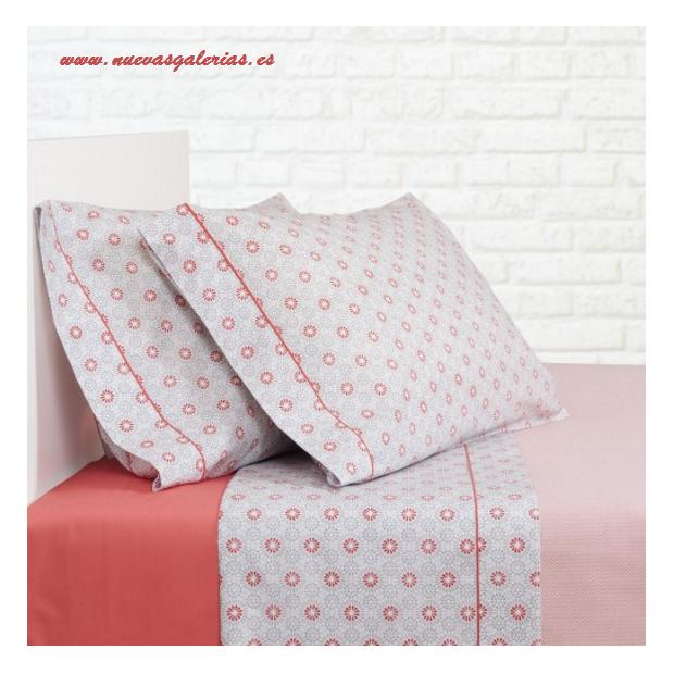 Bassols Sheet Set Ica Rojo   Bassols - 1 Sheet Set Ica Red Bassols 100% Egyptian Cotton Mercerized Hair 200 strands. 3 pieces, Q