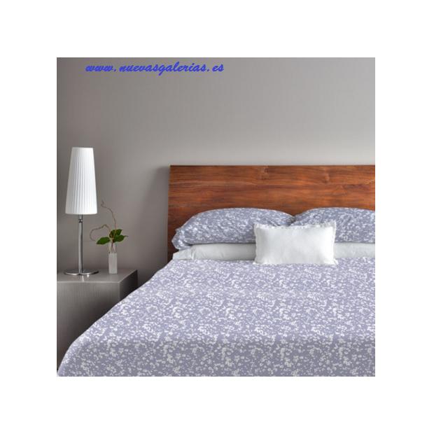 Bassols Completo Lenzuola Yuri Azul | Bassols - 1 Set di lenzuola Yuri Blue Bassols 100% cotone egiziano filo di lana mercerizza