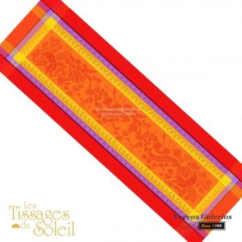 Camino de Mesa Les Tissages du Soleil | Cotignac Naranja