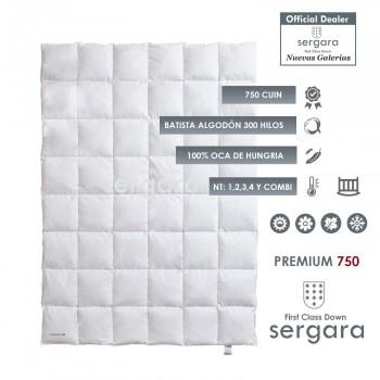 Relleno Nordico Sergara Premium 750 | Bebé