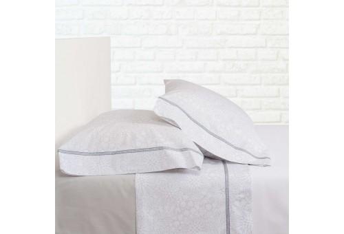 Bassols Sheet Set Clover Gris | Bassols - 1 Sheet Set Clover Gray by Bassols 100% Egyptian Cotton Mercerized Hair 200 thread. 3