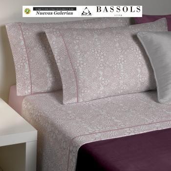 Completo Lenzuola Clover Rosa | Bassols