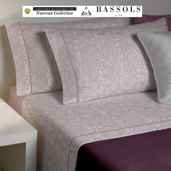Sommerbettwäsche Bassetti Clover Rosa | Bassols