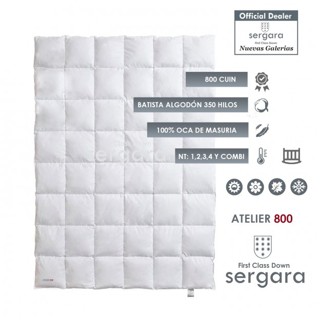 Sergara Atelier 800 Fill Power Down Comforter | Baby