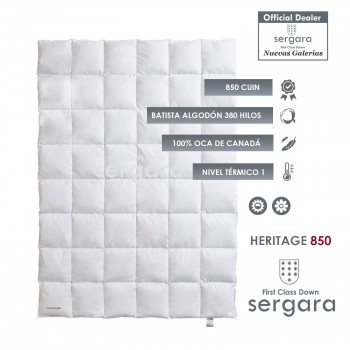 Sergara Heritage 850 Fill Power Summer Down Comforter