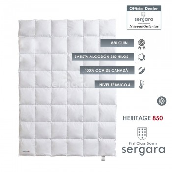 Sergara Heritage 850 Fill Power Winter Down Comforter