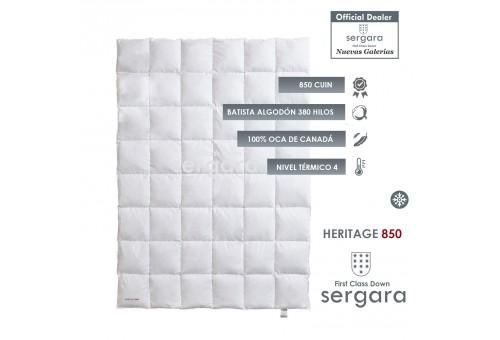Couette Hiver Heritage 850 100% Duvet D'oie | Sergara