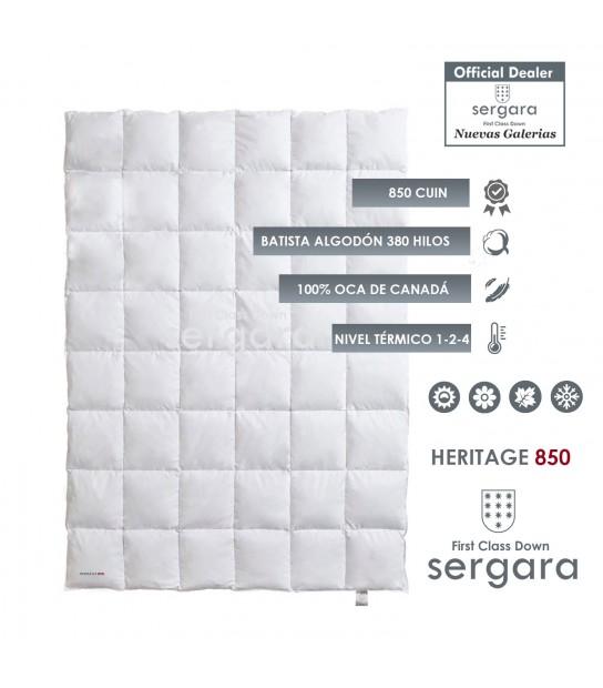 Piumino d´Oca Sergara Atelier 800 | 4 stagioni Nuevas Galerias
