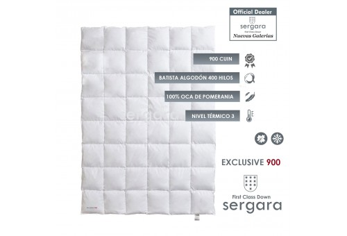 Relleno Nordico Sergara Exclusive 900 | Nivel Termico 3