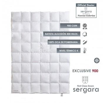Piumino d´Oca Sergara Exclusive 900 | Inverno