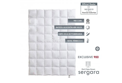 Relleno Nordico Sergara Exclusive 900 | Nivel Termico 4