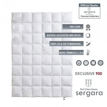 Couette 4 Saisons Exclusive 900 100% Duvet D'oie | Sergara