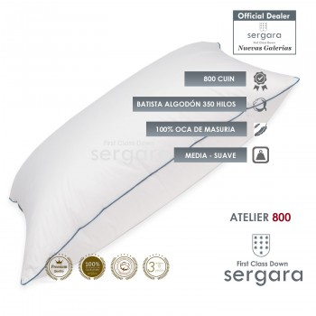 Sergara Atelier 800 Fill Power Goose Down Pillow | Soft