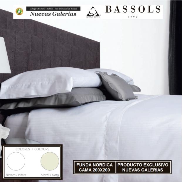 Bassols Bettwäsche Bassetti Cama 200x200 Luxor | Bassols - 1 Bettwäsche Luxor von Bassols 100% ägyptische Baumwolle Mercerisier
