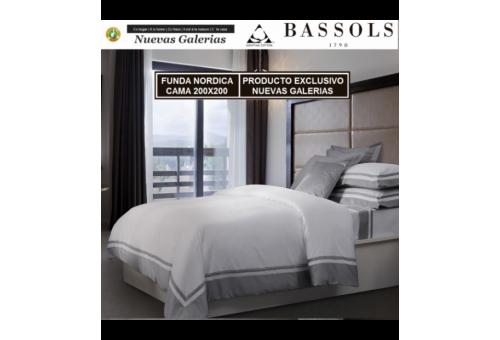 Bassols Bettwäsche Bassetti Cama 200x200 Bassols | Lugano - 1 Bettwäsche Lugano von Bassols 100% ägyptischer Baumwollsatin Merc