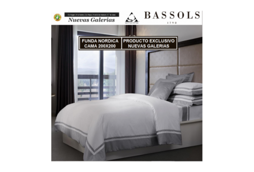 Bassols Duvet Cover Cama 200x200 Bassols | Lugano - 1 Duvet cover Lugano by Bassols 100% Egyptian Cotton Satin Mercerized 300 th
