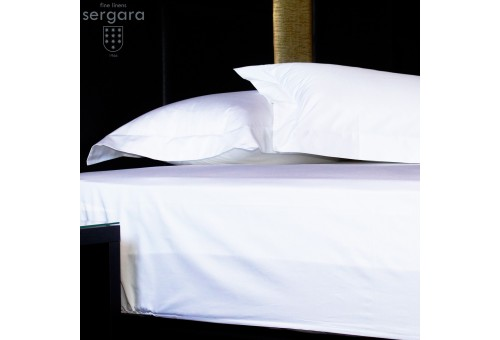 Sergara Fitted Sheet 600 Thread Egyptian Cotton Sateen | Essencial