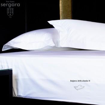 Lenzuolo da sotto articolato H Sergara 600 filo cotone | Essencial