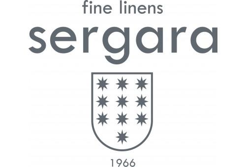 Federe Quadrate Sergara 600 filo cotone egiziano | Bourdon Nero