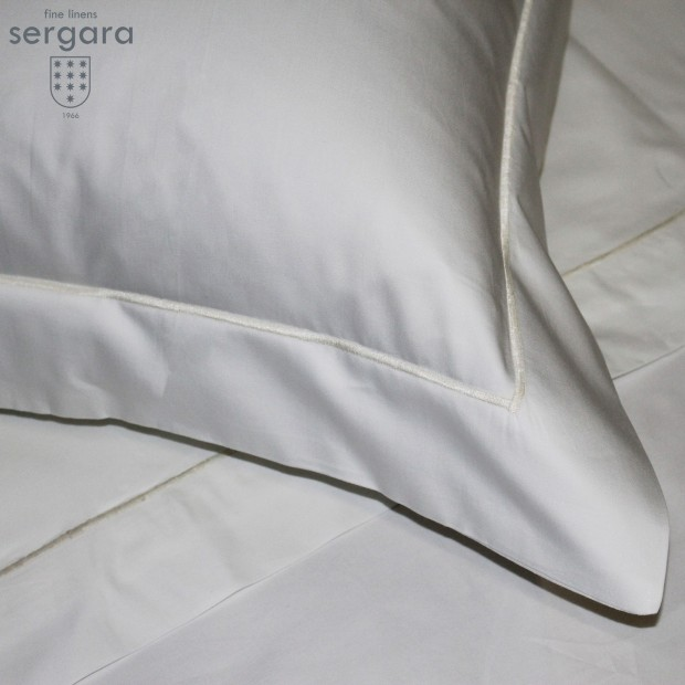 Copripiumino Sergara 600 filo cotone egiziano | Bourdon Beig