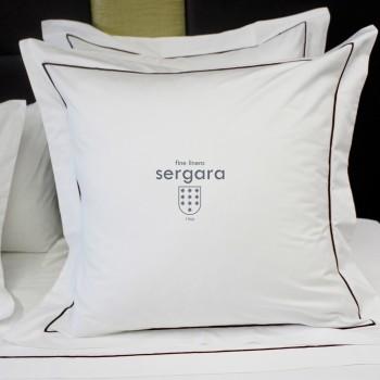 Sergara Kissenbezüge Ägyptische Baumwolle 600 Fäden | Granat Bourdon