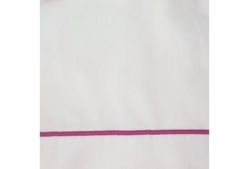Completo Lenzuola Sergara 600 filo cotone egiziano | Bourdon Rosa