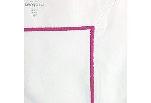 Euro Sham Sergara | Bourdon Rosa 600 hilos