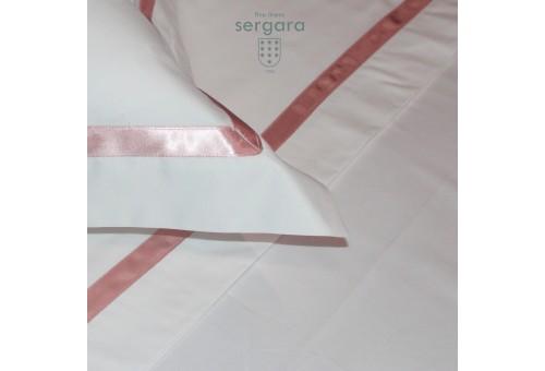Copripiumino Culla Sergara 600 filo cotone egiziano | Illusion Rosa