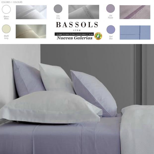 Bassols Completo Lenzuola Paris | Bassols - 1 Set di lenzuola Paris di Bassols 50% cotone 50% poliestere 180 fili. 3 pezzi, gara