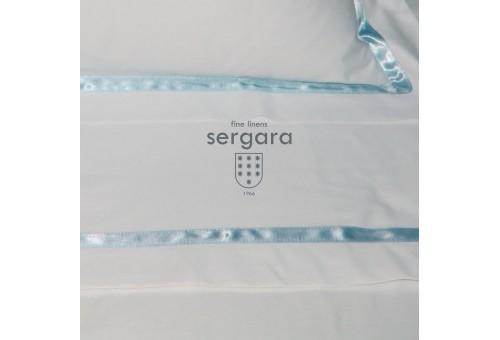 Ensemble de draps bébé Sergara de coton Égyptien 600 fils | Illusion Celeste