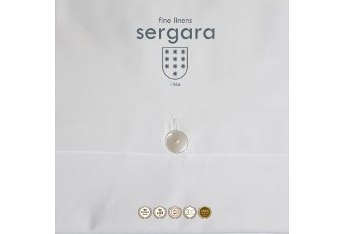 Sergara Baby-Bettwäsche Ägyptische Baumwolle 600 Fäden | Illusion Hellblau