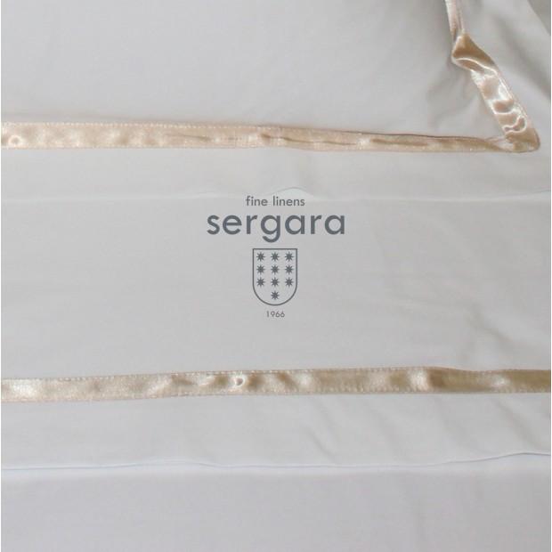 Sergara Baby-Sommerbettwäsche Ägyptische Baumwolle 600 Fäden | Illusion Beig