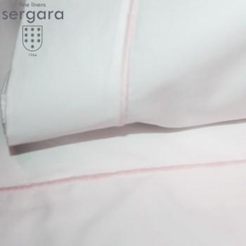 Ensemble de draps bébé Sergara de coton Égyptien 600 fils | Bourdon Rose