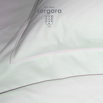 Sergara Baby Duvet Cover 600 Thread Egyptian Cotton Sateen | Pink Bourdon