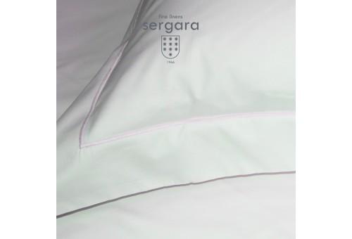 Sergara Baby Duvet Cover 600 Thread Egyptian Cotton Sateen | Pink Bourdon