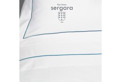 Sergara Baby-Sommerbettwäsche Ägyptische Baumwolle 600 Fäden | Bourdon Hellblau