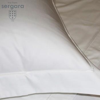 Copripiumino Culla Sergara 600 filo cotone egiziano | Bourdon Bianco