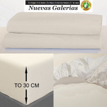 Fitted sheets Venice Ivory | Bassols
