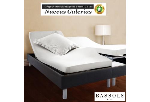 Bassols Spannbettlaken Articulada H Blanco | Bassols - 1 Spannbettlaken Verstellbarer Gelenkarm H Weiß Bassols 100% ägyptische B