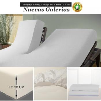 Sabanas Bajeras Articulada Tipo V Blanco | Bassols