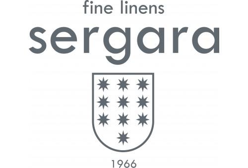 Completo Lenzuola Sergara 600 filo cotone egiziano | Bicolor Beig