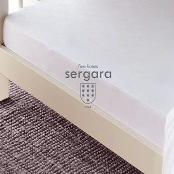 Sergara Fitted Sheet Cradle 600 Thread Egyptian Cotton Sateen | Essencial