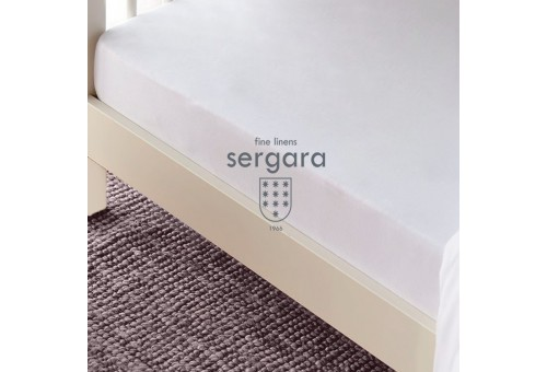 Sergara Fitted Sheet Cradle 600 Thread Egyptian Cotton Sateen | Essencial