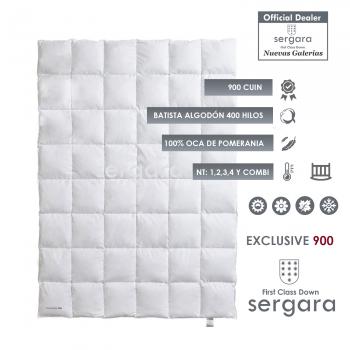 Relleno Nordico Sergara Exclusive 900 | Bebé